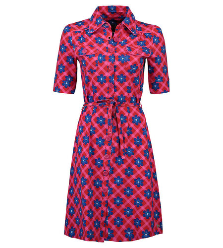 Tante Betsy Dress Betsy Chekkie Daisy Red