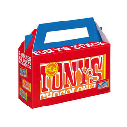 Tony's Chocolonely AS21 Tony's Chocolonely Regenboog Classics 3-pack