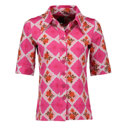 Tante Betsy Button Shirt Doily N Rose