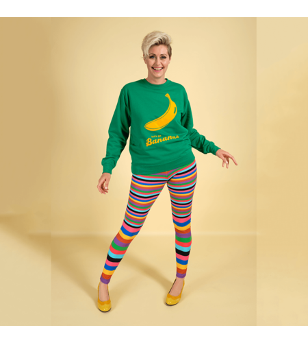 Margot Sweat Shirt Lets Go Bananas 1205