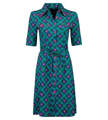 Tante Betsy Dress Betsy Chekkie Daisy Green