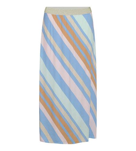 Costa Mani Happy Skirt Multi Stripe Multi Stripe