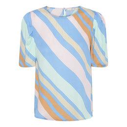 Costa Mani Happy Blouse Multi Stripe