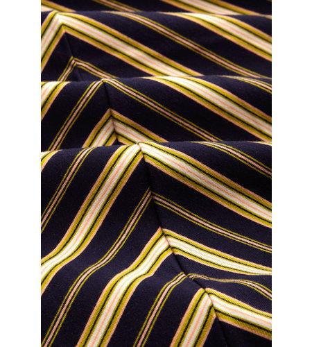 King Louie Abigail Dress Gonzalez Stripe  Blue