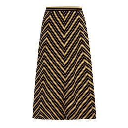 King Louie Juno Panel Skirt Gonzalez Stripe