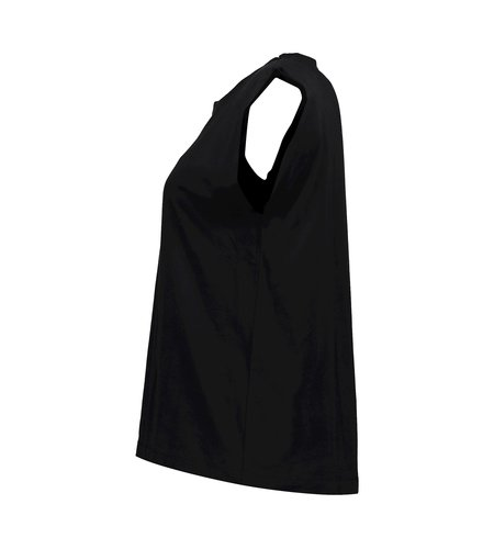 Geisha T-Shirt Padded Shoulders 12036-40 Black