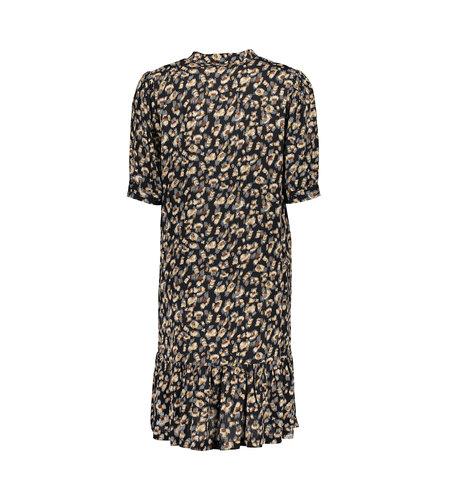 Geisha Dress 17047-26 Black Brown