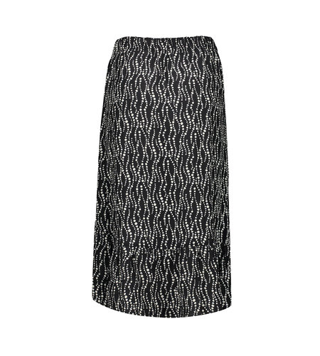 Geisha Skirt 16081-20 Black Off White Combi