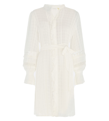 Fabienne Chapot Leo Dress Cream White