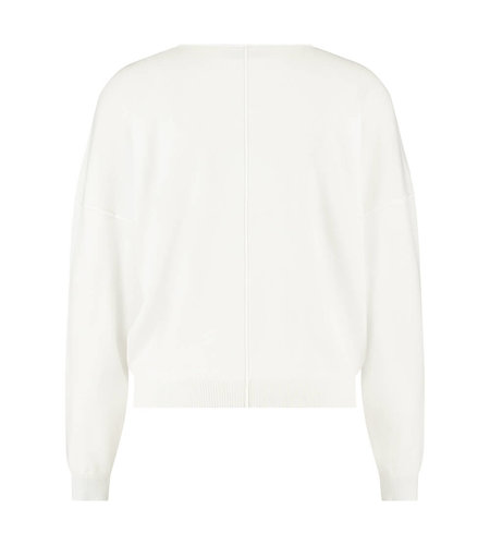 Studio Anneloes Fenne Batwing Pullover Off White
