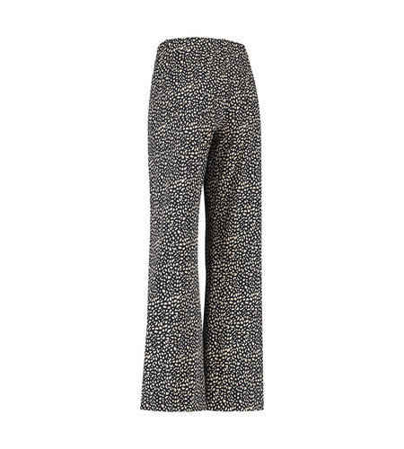 Studio Anneloes Jools Small Dot Trousers Dark Blue Sahara