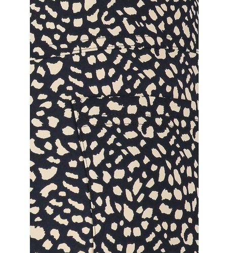 Studio Anneloes Margot Small Dot Trousers Dark Blue Sahara