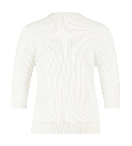 Studio Anneloes Famke Cardigan Off White