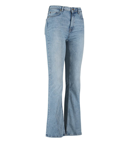 Studio Anneloes Groovy Flare Jeans Trousers Light Jeans Blue