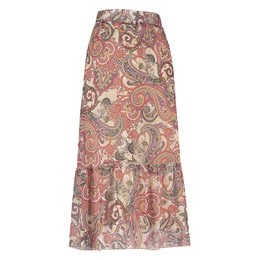 Studio Anneloes Sila Paisly Crepe Skirt