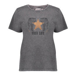 Geisha T-shirt Free Life 12323-24