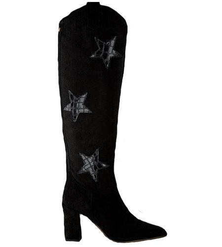 Fabienne Chapot Hugo High Star Boot Black