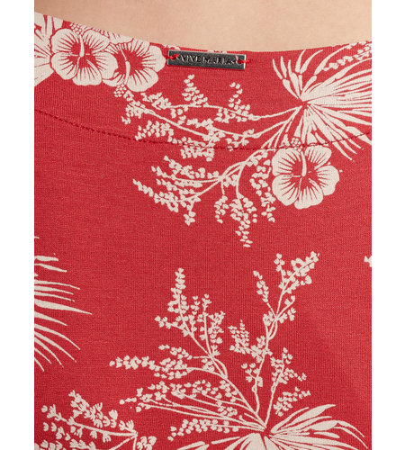 Vive Maria Hawaii Vacation Dress Red Allover