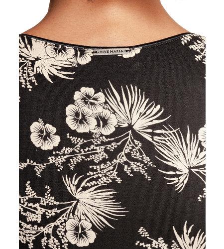 Vive Maria Tropical Blossom Dress Black Allover