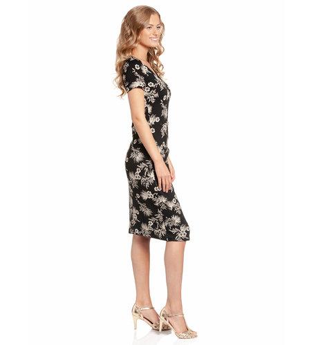 Vive Maria Tropical Hawaii Dress Black Allover