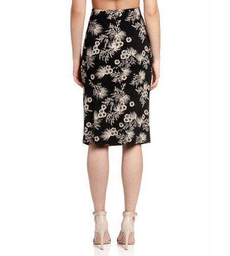 Vive Maria Tropical Hawaii Skirt Black Allover