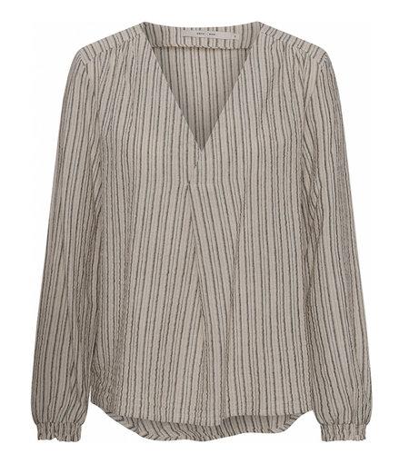 Costa Mani Oats Shirt Sand Stripe