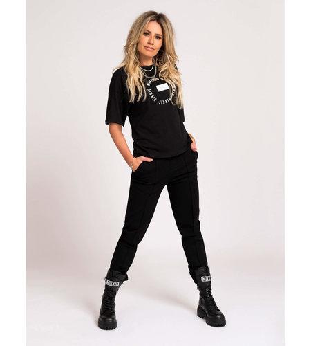 NIKKIE Lynn Boots Black Silver