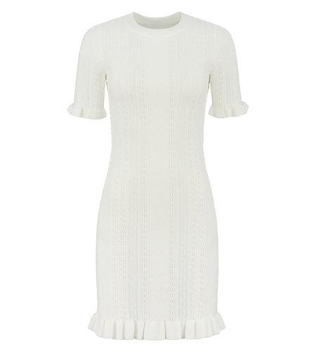 NIKKIE Pippa Dress Star White
