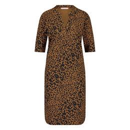 Studio Anneloes Stella Shortsleeve Animal Dress