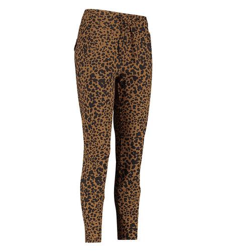 Studio Anneloes Startup Animal Trousers Cinnamon Black
