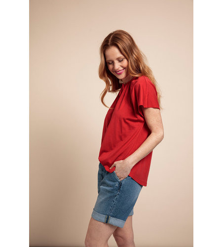 Studio Anneloes Carina Shirt Red