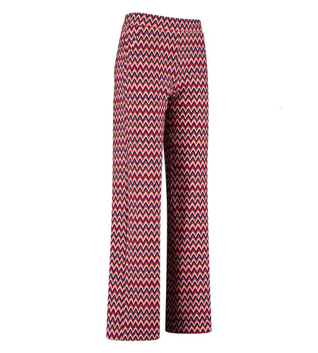 Studio Anneloes Young Marilyn Multi Trousers Black Red