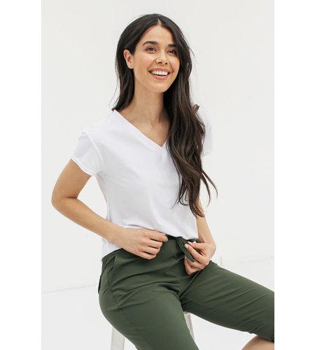 Studio Anneloes Roller Shirt White