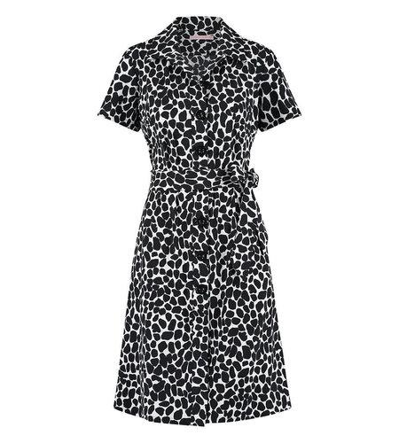 Studio Anneloes Nala Stone Dress Off White Black
