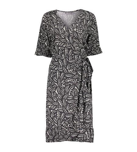 Geisha Dress 17453-20 Off White Black Combi