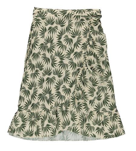 Geisha Skirt 16325-20 Off White Green Combi