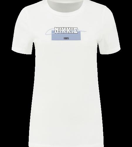 NIKKIE Nikkie Tshirt Star White
