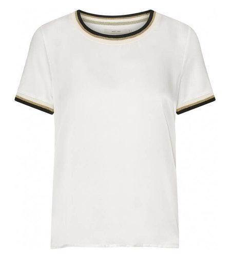 Costa Mani Silke T-Shirt Off White Black