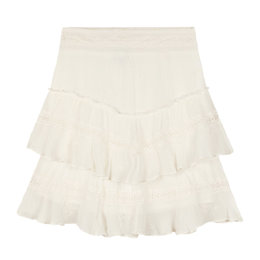 Alix The Label Ladies Woven Embroidery Chiffon Skirt