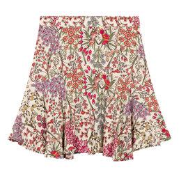 Alix The Label Ladies Woven Floral Mini Skirt