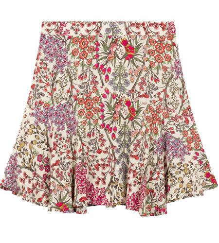 Alix The Label Ladies Woven Floral Mini Skirt Multi Colour