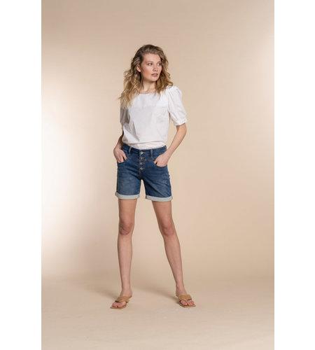 Geisha Shorts 11307-10 Blue Denim