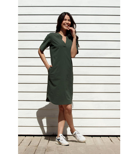 Studio Anneloes Stella Dress Green