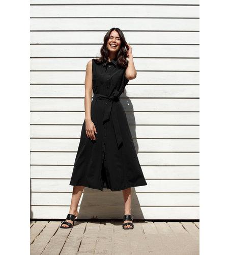 Studio Anneloes Indy Sleeve Dress Black
