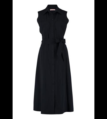 Studio Anneloes Indy Sleeve Dress Dark Blue