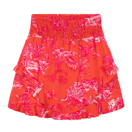 Alix The Label Ladies Woven Tropical Mini Skirt