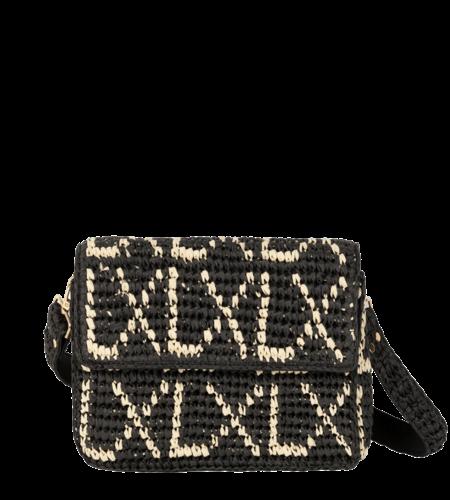 Alix The Label Ladies Paper Chochet Small LX Bag Black