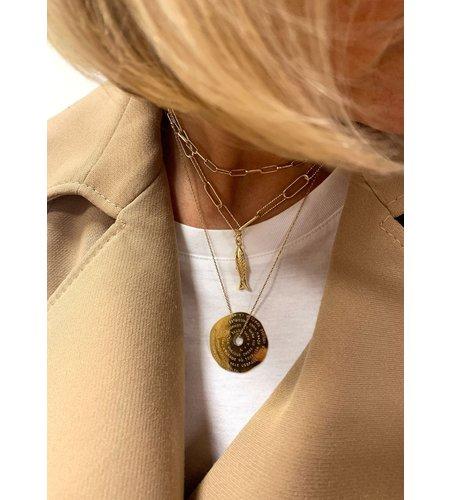 Mya Bay Necklace Bel Air Gold (1)
