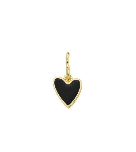 Mya Bay Charm Heart black