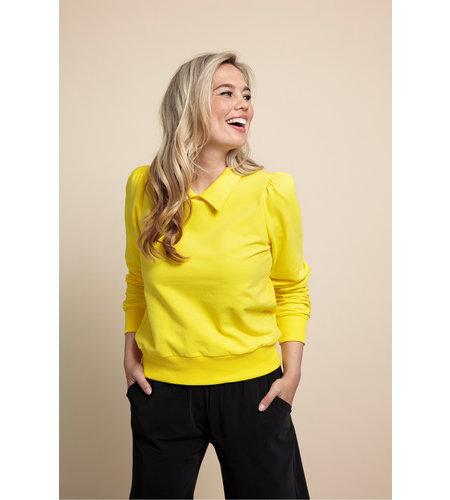 Studio Anneloes Vesper Sweater Yellow